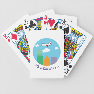 Its A Bird Bicycle Playing Cards