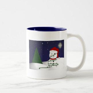 It's a bit like that... Two-Tone coffee mug