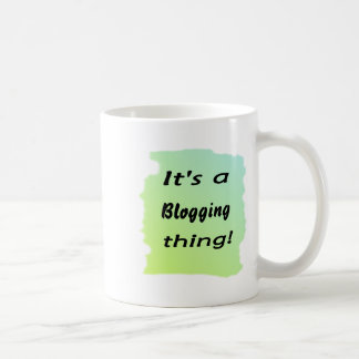 It's a blogging thing! mugs