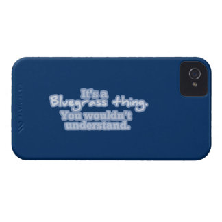 It's a Bluegrass Thing. You Wouldn't Understand. iPhone 4 Case