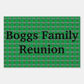 It's A Boggs Thing Lawn Sign