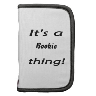 It's a bookie thing! organizer