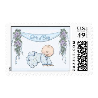 It's a boy1 postage stamp