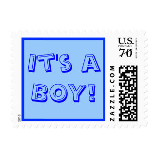 It's a Boy 64 cent Postage Stamp