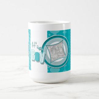 It's a boy announcement coffee mug