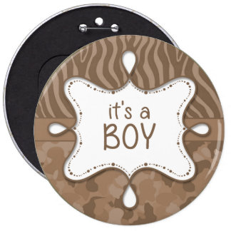 It's a Boy Announcement Pin 3