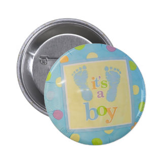 Its a Boy! Baby Announcements! Pinback Button