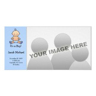 It's A Boy! Baby Birth Announcements