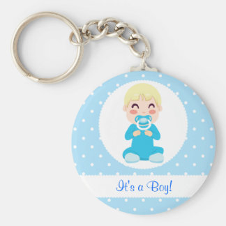 It's a Boy Baby Boy Design Keychain