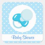 It's a Boy Baby Boy Design Square Stickers