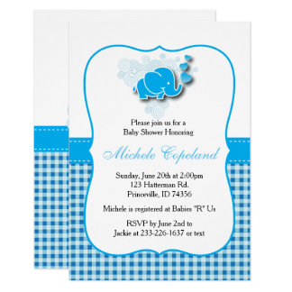 It's A Boy | Baby Elephant Card