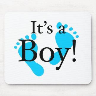 Its a Boy - Baby, Newborn, Celebration Mouse Pad