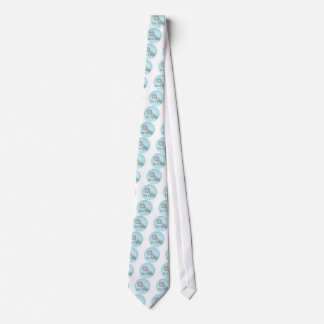 IT'S A BOY BABY RATTLE by SHARON SHARPE Neck Tie