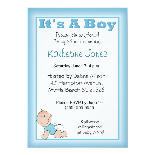 Baby Shower Invitation Text Ideas with great invitations example