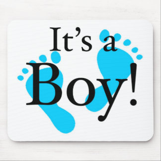 It's a Boy! - Baby-shower Newborn Mouse Pads