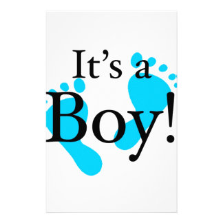 It's a Boy! - Baby-shower Newborn Stationery