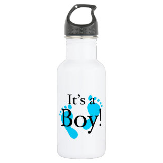 It's a Boy! - Baby-shower Newborn Water Bottle