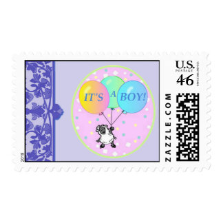 It's a Boy baby shower postage