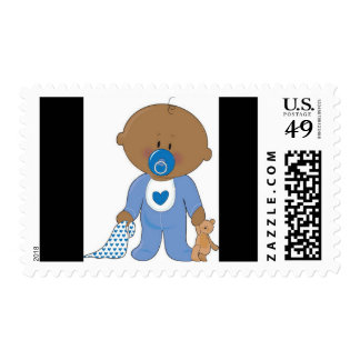 It's a Boy Baby Shower Postage Stamps