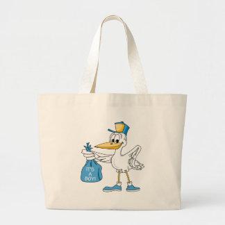It's A Boy! Canvas Bags