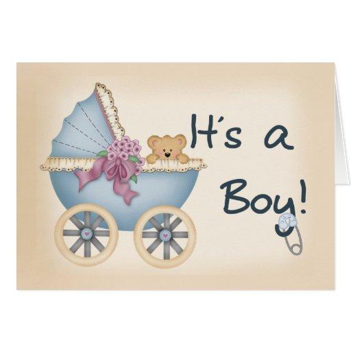 Its a Boy Bear Card