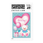 It's a Boy! Birth Announcement Postage Stamps