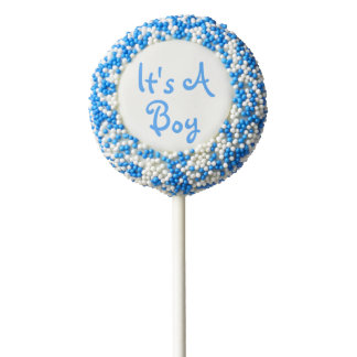 It's a Boy | Blue Baby Shower Favor Chocolate Dipped Oreo
