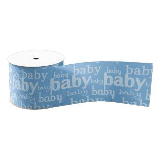 It's A Boy Blue Baby Shower Party Grosgrain Ribbon