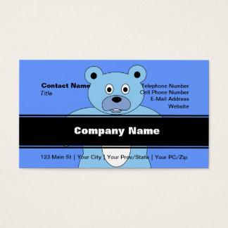 It's A Boy Blue Bear Business Card