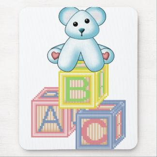 It's A Boy Blue Bear Mouse Pad