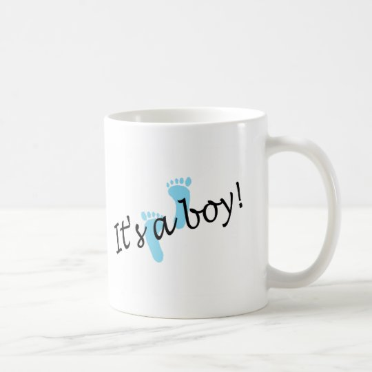 It's A Boy (Blue Feet) Coffee Mug
