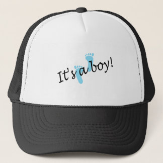 It's A Boy (Blue Feet) Trucker Hat