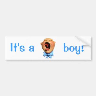 It's a Boy! Bumper Sticker