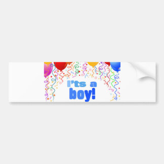 It's a boy! bumper sticker