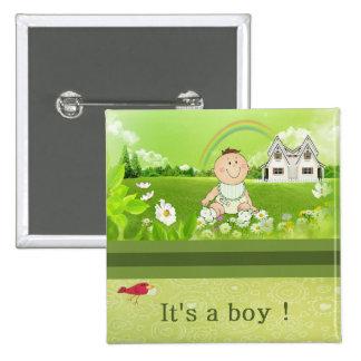 It's a boy ! button