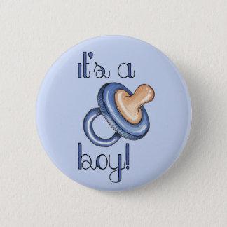 It's a Boy! Button