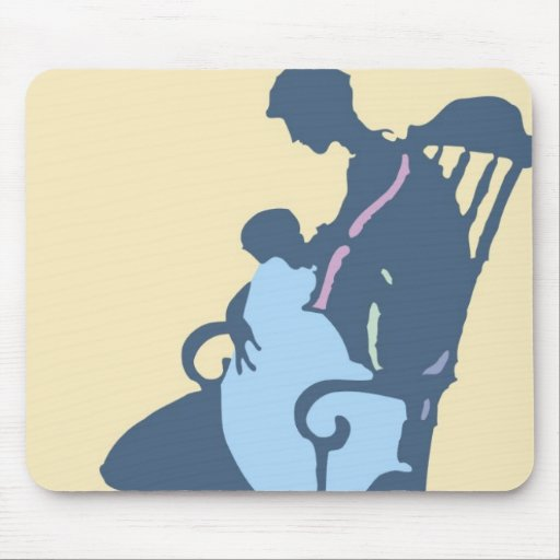 <It's a Boy> by Steve Collier Mouse Pads
