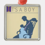 <It's a Boy> by Steve Collier Ornaments