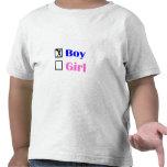 It's A Boy (Check) T Shirts