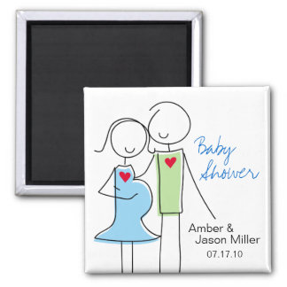 It's a Boy, Coed Baby Shower Magnet Favors