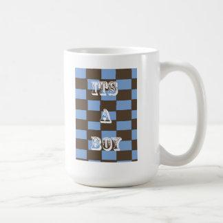 ITS A BOY COFFEE CUP