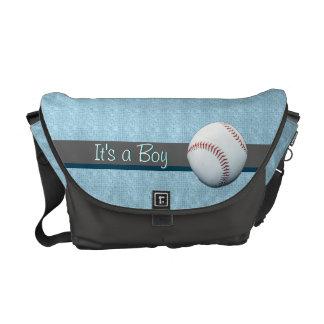 It's A Boy Customizable Baby Diaper Travel Bag Commuter Bags