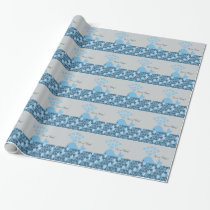 It's A Boy! Cute Whale Wrapping Paper