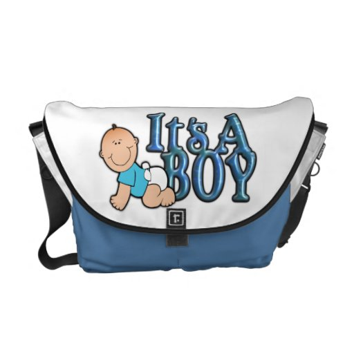 it 39 s a boy diaper bag with baby boy zazzle. Black Bedroom Furniture Sets. Home Design Ideas