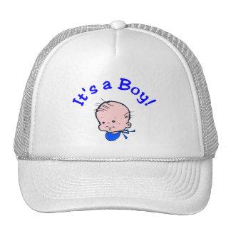 It's A Boy Face) Trucker Hat
