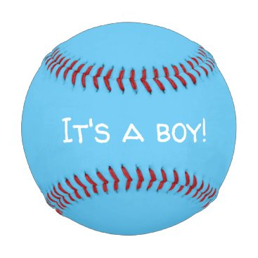 It's A Boy Gender Reveal Baseball