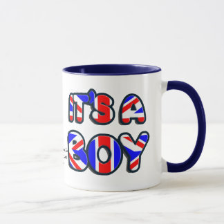 It's a Boy George Alexander Louis Mug