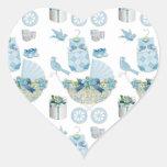Its A Boy Heart Sticker