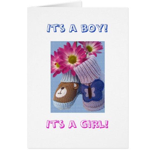 It's a boy! It's a girl! Card