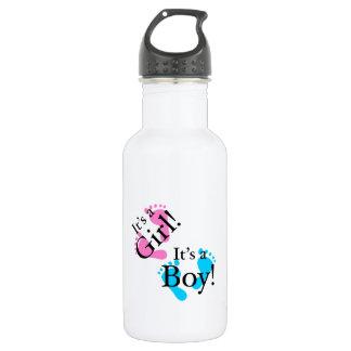 It's a Boy It's a Girl - Newborn Baby Water Bottle